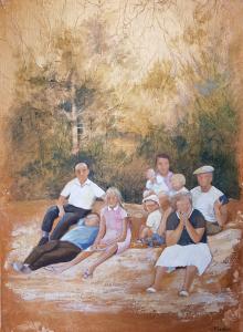 4 - plage en famille